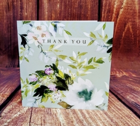 Blues   Thank You Card