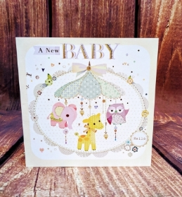 Lovely New Baby Card