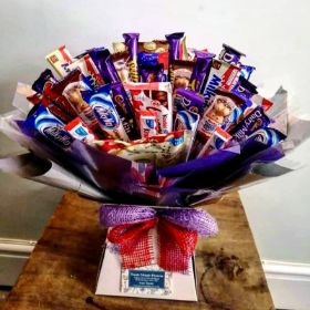 Kinder, Cadbury and Milkybar Bouquet