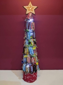 Large Light Up Chocolate Tree