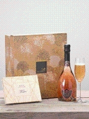 Sparkling Rose & Chocolates
